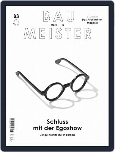 Baumeister March 1st, 2019 Digital Back Issue Cover