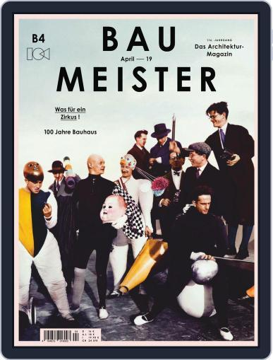 Baumeister April 1st, 2019 Digital Back Issue Cover