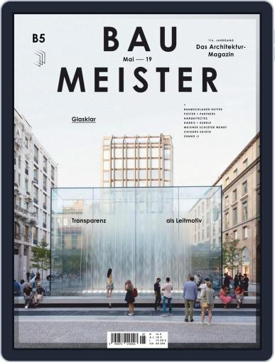 Baumeister May 1st, 2019 Digital Back Issue Cover