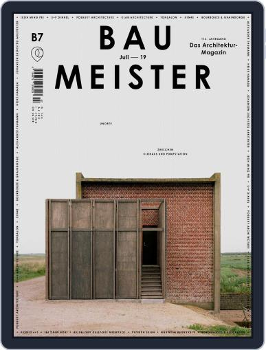 Baumeister July 1st, 2019 Digital Back Issue Cover