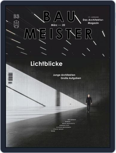 Baumeister March 1st, 2020 Digital Back Issue Cover