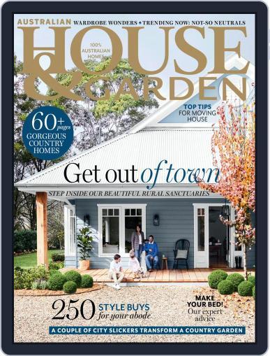 Australian House & Garden August 1st, 2019 Digital Back Issue Cover
