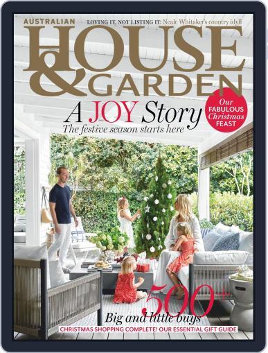 Australian House & Garden December 1st, 2019 Digital Back Issue Cover