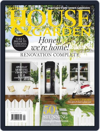Australian House & Garden April 1st, 2020 Digital Back Issue Cover