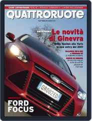 Quattroruote (Digital) Subscription March 1st, 2011 Issue