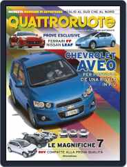 Quattroruote (Digital) Subscription August 2nd, 2011 Issue