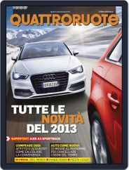Quattroruote (Digital) Subscription January 1st, 2013 Issue