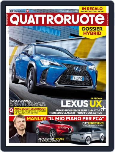 Quattroruote April 1st, 2019 Digital Back Issue Cover