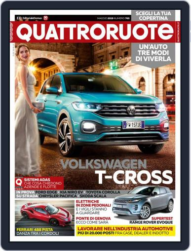 Quattroruote May 1st, 2019 Digital Back Issue Cover