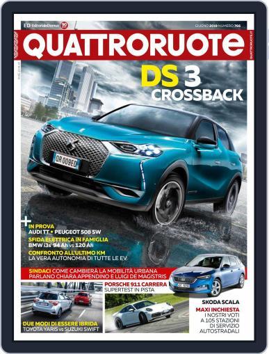 Quattroruote June 1st, 2019 Digital Back Issue Cover