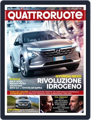 Quattroruote July 1st, 2019 Digital Back Issue Cover