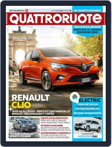 Quattroruote September 1st, 2019 Digital Back Issue Cover
