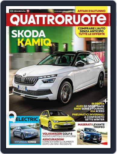 Quattroruote November 1st, 2019 Digital Back Issue Cover