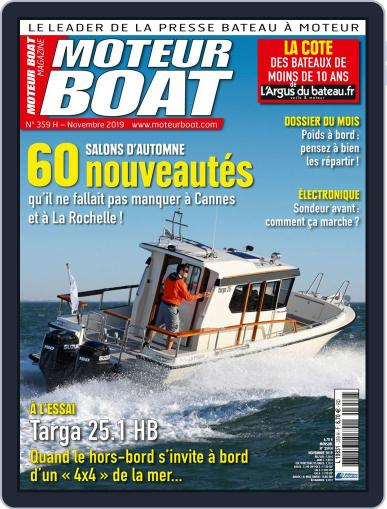 Moteur Boat November 1st, 2019 Digital Back Issue Cover