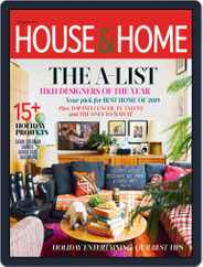House & Home (Digital) Subscription December 1st, 2019 Issue