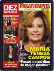 Diez Minutos (Digital) Subscription April 8th, 2020 Issue