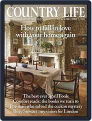 Country Life (Digital) Subscription April 1st, 2020 Issue
