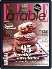 ELLE à Table (Digital) Subscription March 4th, 2015 Issue