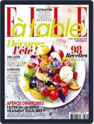 ELLE à Table (Digital) Subscription June 29th, 2015 Issue