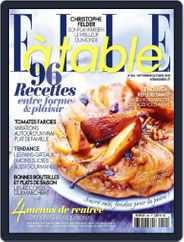 ELLE à Table (Digital) Subscription August 27th, 2015 Issue