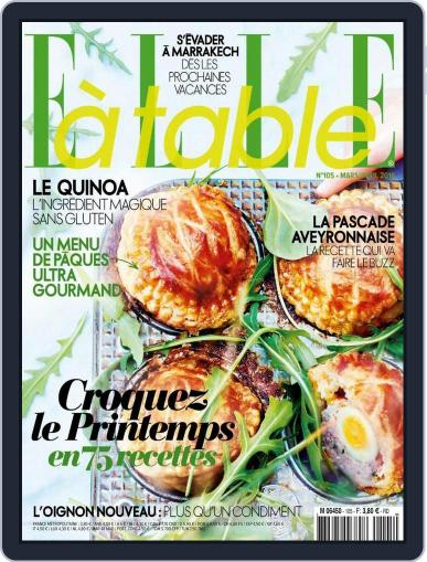 ELLE à Table March 3rd, 2016 Digital Back Issue Cover