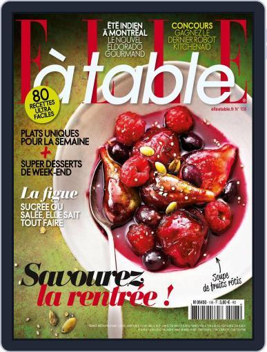 ELLE à Table September 1st, 2016 Digital Back Issue Cover