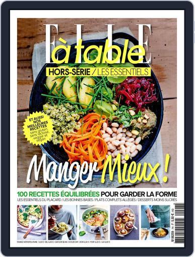 ELLE à Table October 1st, 2017 Digital Back Issue Cover