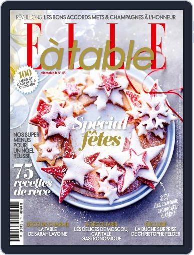 ELLE à Table November 1st, 2017 Digital Back Issue Cover