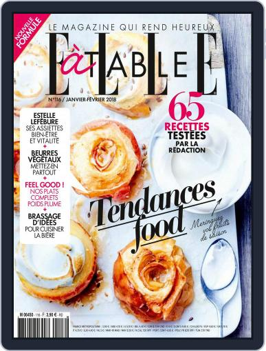 ELLE à Table January 1st, 2018 Digital Back Issue Cover