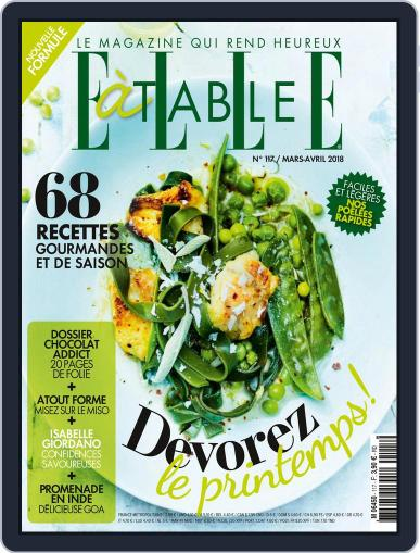 ELLE à Table March 1st, 2018 Digital Back Issue Cover