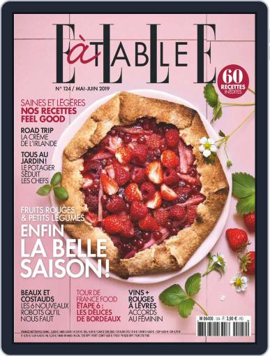 ELLE à Table May 1st, 2019 Digital Back Issue Cover