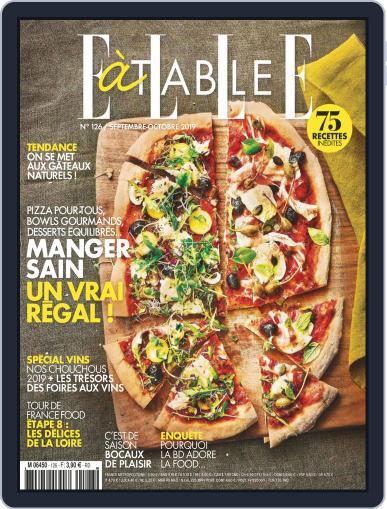 ELLE à Table September 1st, 2019 Digital Back Issue Cover