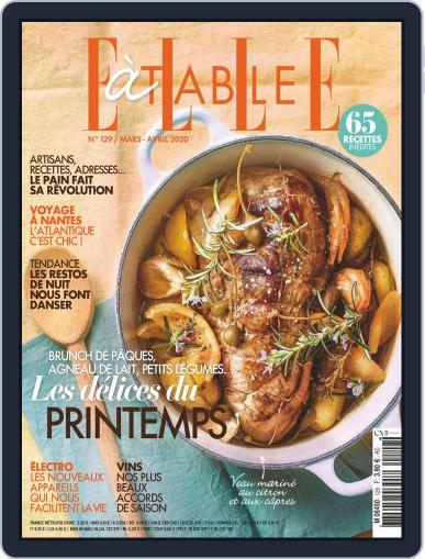 ELLE à Table March 1st, 2020 Digital Back Issue Cover