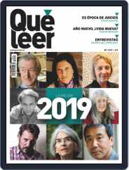 Que Leer (Digital) Subscription January 1st, 2019 Issue
