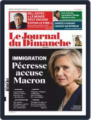 Le Journal du dimanche (Digital) Subscription September 22nd, 2019 Issue