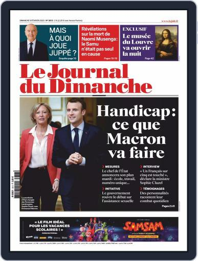 Le Journal du dimanche February 9th, 2020 Digital Back Issue Cover