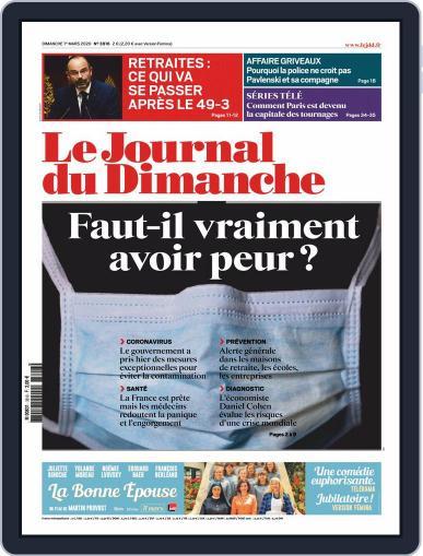 Le Journal du dimanche March 1st, 2020 Digital Back Issue Cover