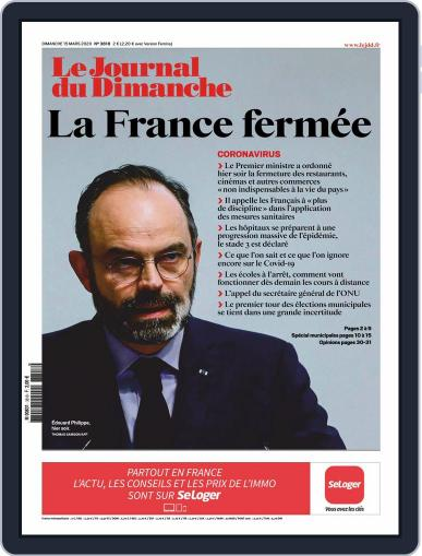 Le Journal du dimanche March 15th, 2020 Digital Back Issue Cover