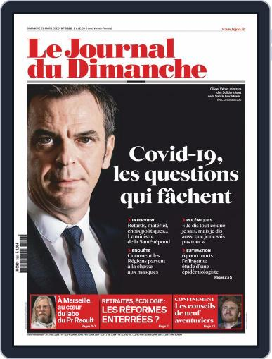 Le Journal du dimanche March 29th, 2020 Digital Back Issue Cover