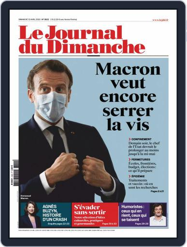 Le Journal du dimanche April 12th, 2020 Digital Back Issue Cover