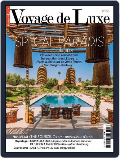Voyage de Luxe June 29th, 2015 Digital Back Issue Cover