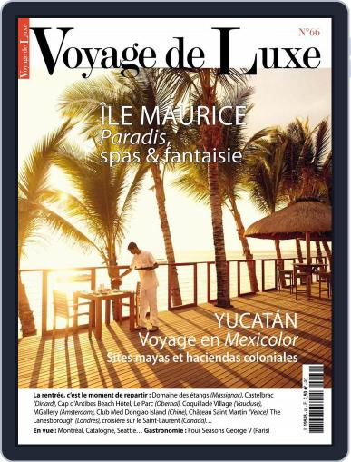 Voyage de Luxe October 22nd, 2015 Digital Back Issue Cover