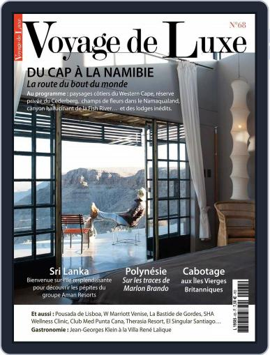 Voyage de Luxe February 8th, 2016 Digital Back Issue Cover