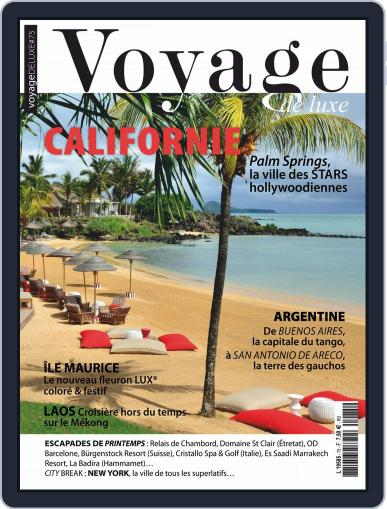 Voyage de Luxe June 1st, 2018 Digital Back Issue Cover