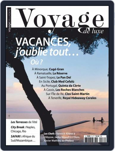 Voyage de Luxe August 1st, 2018 Digital Back Issue Cover