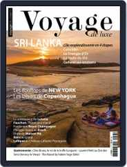 Voyage de Luxe (Digital) Subscription October 1st, 2018 Issue