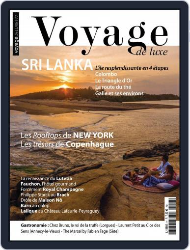 Voyage de Luxe October 1st, 2018 Digital Back Issue Cover