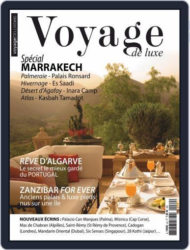 Voyage de Luxe April 1st, 2019 Digital Back Issue Cover