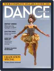 Dance Australia (Digital) Subscription February 1st, 2018 Issue