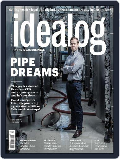 Idealog April 16th, 2015 Digital Back Issue Cover